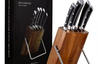 Chef Knife Block Set 62% Off Today at Amazon!