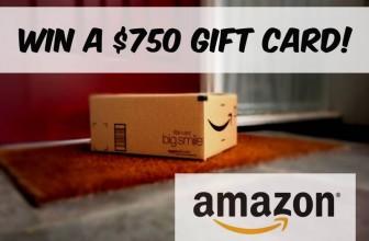 Win a 750 Amazon Gift Card!
