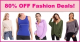 80% Off Hot Fashion Deals List = As Low As $3.00 SHIPPED !