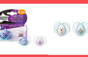 $3 (reg $5.97) Tommee Tippee Closer to Nature Night Pacifier, 6-18 Months, 2 Count