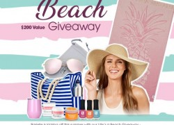 Win a $200 Life's a Beach Glam Set!!!