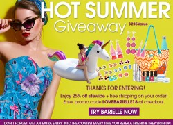 Win a $225 Beauty Prize Package