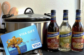 Win Holland House Cooking Wines & a $100 Visa Gift Card!