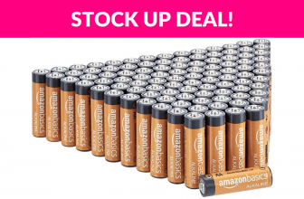 30% OFF! AmazonBasics AAA Batteries