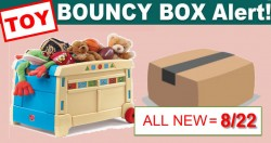 15 HOT [ INSTANT WIN ] *** TOY *** Bouncy Boxes! ALL NEW Wednesday 8/22