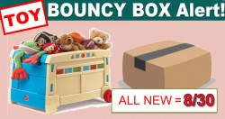 15 HOT [ INSTANT WIN ] *** TOY *** Bouncy Boxes! ALL NEW Thursday 8/30