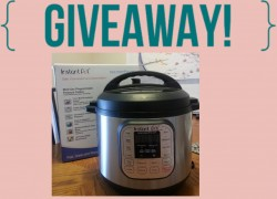 Don't have a Instant Pot yet?? Another Giveaway here!!