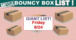 MEGA LIST Of – INSANE ODDS to WIN – BOUNCY BOX Giveaways! = Friday 8/24