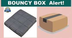Amazon Bouncy Box Giveaway Weighted Blanket!