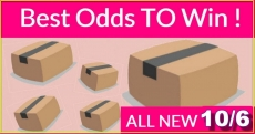 Best ODDS to win Bouncy BOXES = New 10/06