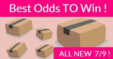 BEST Odds To Win Amazon Bouncy Boxes !