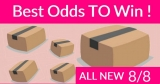 Best ODDS to win Bouncy BOXES = New 8/8