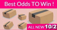Best ODDS to win Bouncy BOXES = New 10/02
