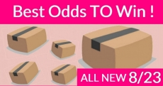 Best ODDS to win Bouncy BOXES = New 8/23