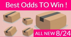 Best ODDS to win Bouncy BOXES = New 8/24