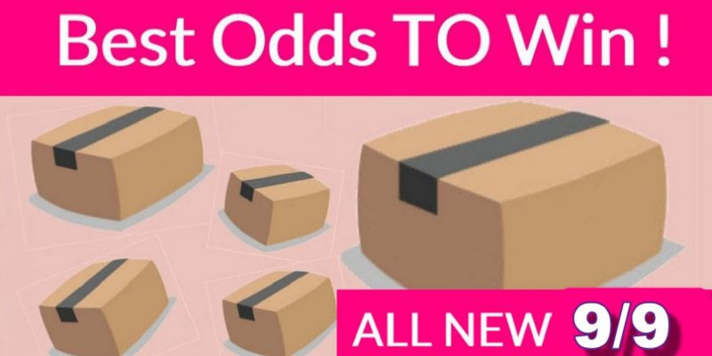 Best ODDS to win Bouncy BOXES = New 9/9