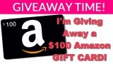 GIVEAWAY TIME! I'm Giving Away $100.00 Amazon Gift CARD!