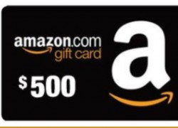 WIN A  $500 Amazon.com e-Gift Card Giveaway – Ends 12/24