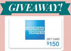 ENTER TO WIN $150 American Express gift card