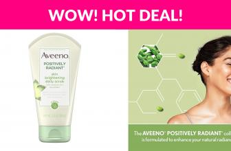 Aveeno Positively Radiant Daily Facial Scrub