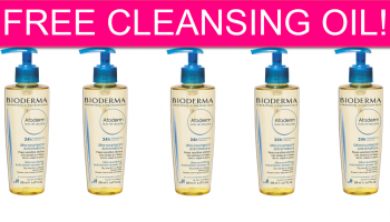 FREE Bioderma Cleansing Oil! *SUPER LIMITED*