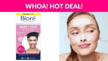 Bioré Nose+Face, Deep Cleansing Pore Strips