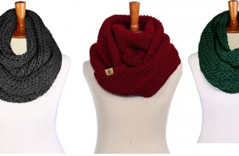 Chunky Cable Scarf ONLY $1.00 ! Winter is Coming!
