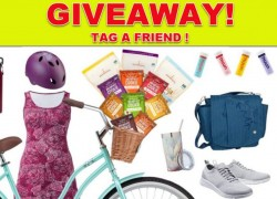 Win a $800 in prizes – including a Bicycle!