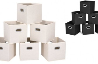 Cloth Storage Bins ONLY $2.83 SHIPPED!