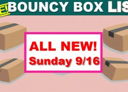 Best Bouncy Boxes Of The Day! [ BEST ODDS OF WINNING! ] = UPDATED 9/16