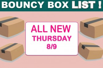 MEGA LIST Of – INSANE ODDS to WIN – BOUNCY BOX Giveaways! = THURSDAY!