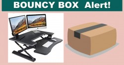 [ BOUNCY BOX! ] Instant Win a Sit To Stand Desk!!!