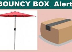 [ BOUNCY BOX! ] Instant Win a Table Market Umbrella!!!