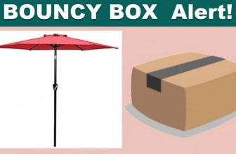 [ BOUNCY BOX! ] Instant Win a Table Market Umbrella!!!