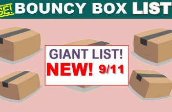 Best Bouncy Boxes Of The Day! [ BEST ODDS OF WINNING! ] = UPDATED 9/11