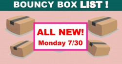 Giant Bouncy Box List – BEST ODDS TO WIN! – ALL NEW Monday 7/30!