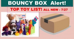 BEST > > [ TOY ] < < BOUNCY BOX List! ALL NEW Friday 7/27!