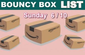 HOT ODDS! 🔥 BEST Bouncy Box List ! 6/10 – Sunday