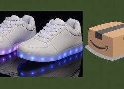 LED Shoes! Every 199th Person WINS – 10 Winners. GO!