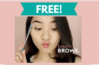 FREE BENEFIT GOOF PROOF BROW PENCIL!