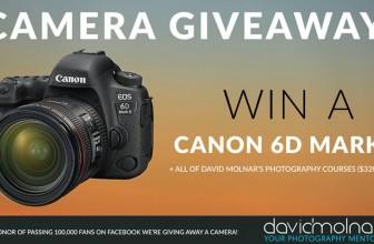 Win a Canon 6D Mark Camera!