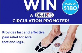 WIN a T.E.N.S Circulation Promoter!