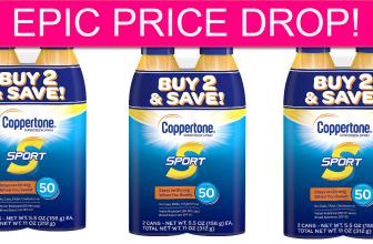 Coppertone Sunscreen Spray STOCK UP PRICE!