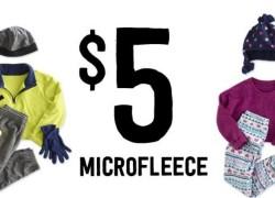 WHOA! MicroFleece EVERYTHING $5.00 BUCKS + FREE SHIPPING!