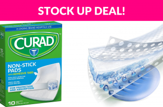 Curad Medium Non-Stick Pads