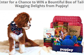 Enter for a Chance to WIN a Bountiful Box of Tail-Wagging Delights from PupJoy!