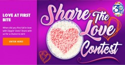 Dippin Dot's Share the Love Sweepstakes