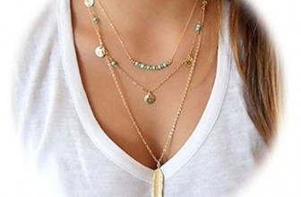 Multilayer Pendant Necklace Only $4.98 on Amazon