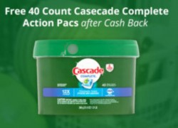 40 Count Cascade Complete Action Pacs FREEBIE