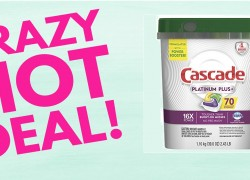 MEGA Hot Deal! Cascade Platinum Plus { 70 Ct. } ONLY $13.99 ( Reg. $24.99+ )